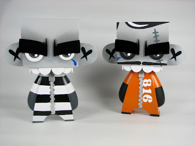 Prisoner 816 &amp; Prisoner 913 MORK Custom 10 Inch Mad'ls by MAD