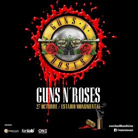 GUNS N ROSES (2da VEZ) ESTADIO MONUMENTAL. 27 DE OCTUBRE 2016