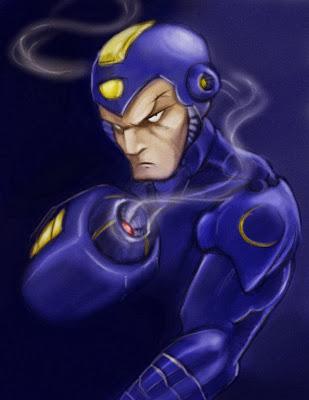 Serious Mega Man