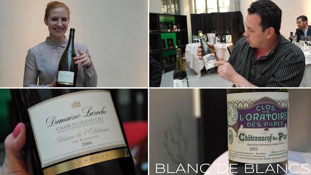 Réserve de l'Obédience Les Blanchots 2006 ja Clos de l'Oratoires des Papes Blanc 2013 - www.blancdeblancs.fi