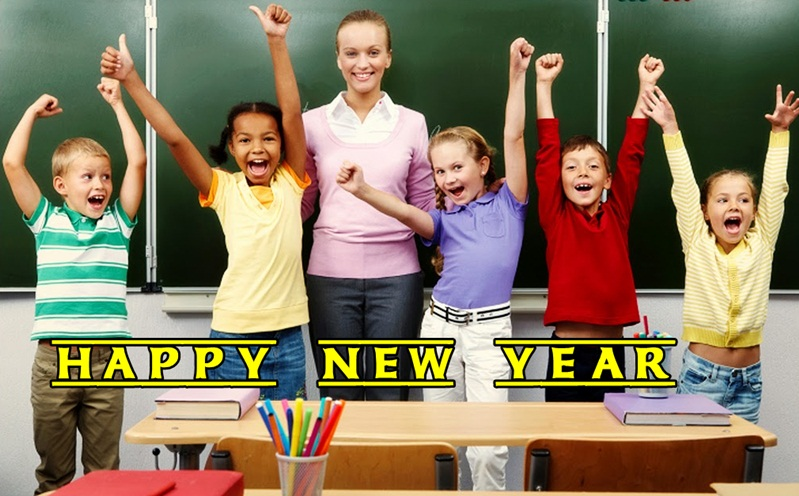 Happy New Year Greetings for Students