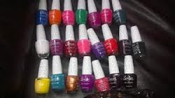 Colores de esmaltes craquelados