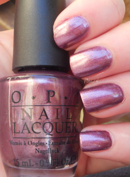 Swatch  OPI - Meet Me On The Star FerryOpi Meet Me On The Star Ferry