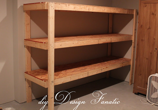 Build A Garage Shelf Organize Your Garage By Building Shelves With The ...
