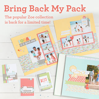 Bring Back My Pack - Zoe Collection