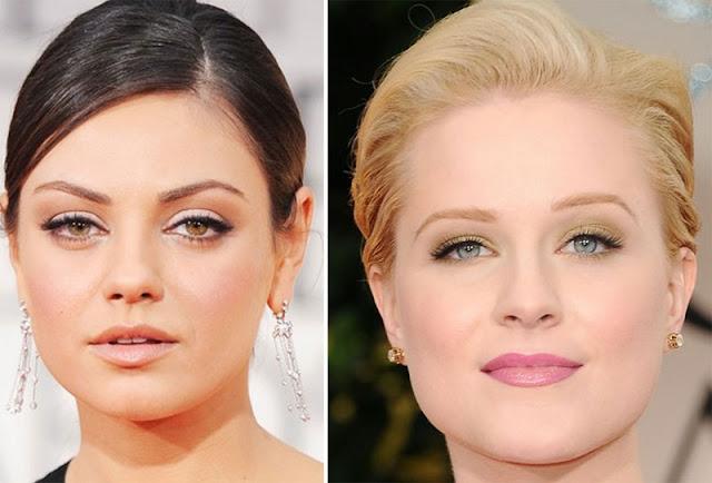 2 Golden Globes 2012: As melhores makeups