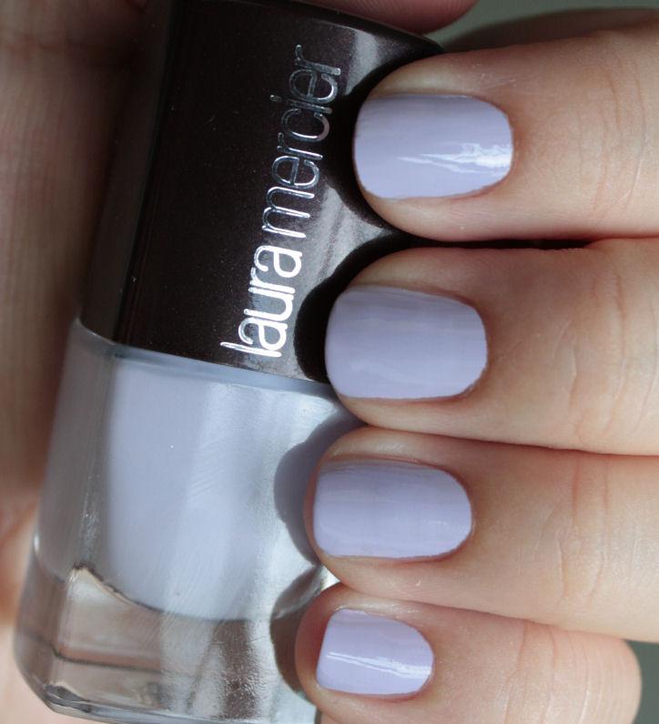 Laura Lacquer Nail Polish: Pondering Beauty: Laura Mercier Nail Lacquer In Lavender