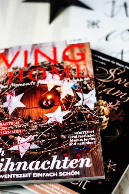 Living at home, Sweet Dreams, Lieblingszeitschrift, Weihnachtsinspiration, Espresso. Qualitytime