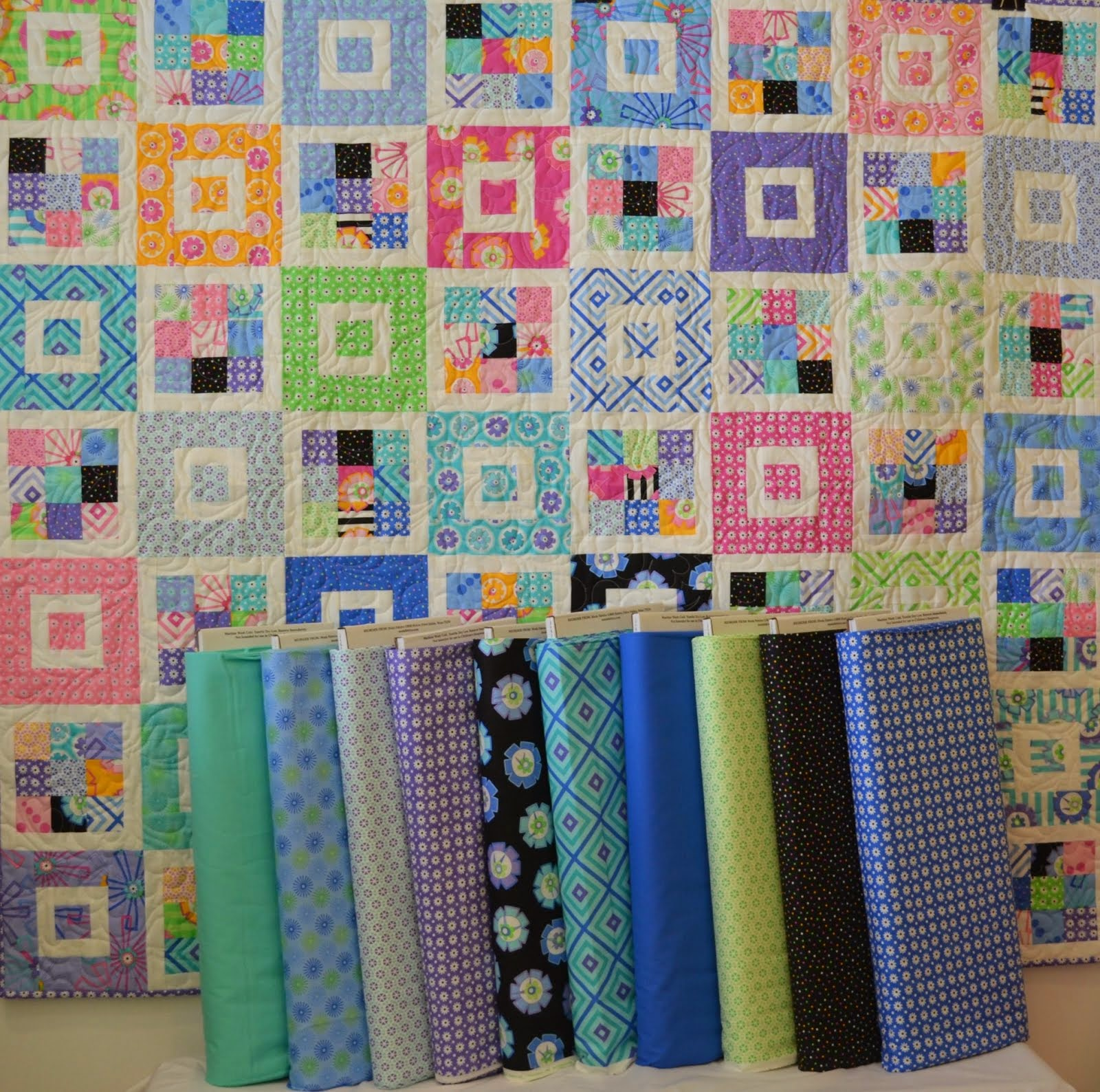 Kits available at Stitchin' It Up Quilt Shop
