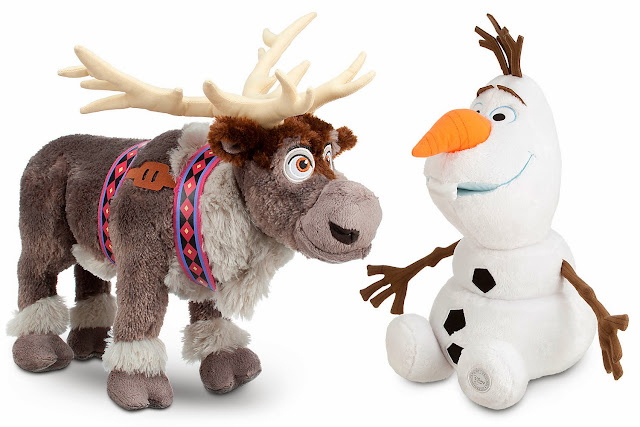 peluches sven olaf frozen