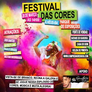 Ilhéus recebe o Festival das Cores