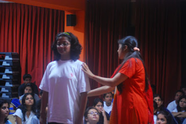 SAMITA, CORRECTING POSTURE OF A STUDENT