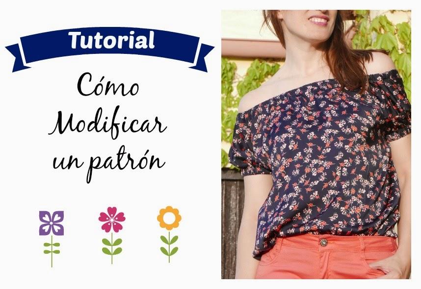 Cómo modificar un patrón de costura ~ Moda en la Costura