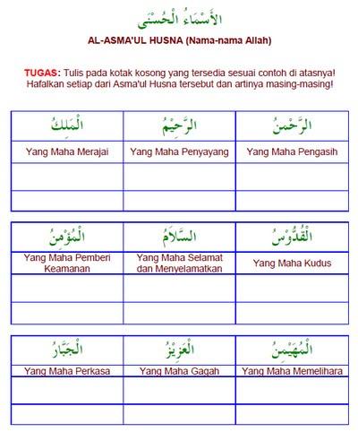 01. LKB Isim 'Alam : al-Asma'ul Husna