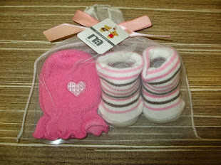 Baby Gloves and Sock Set