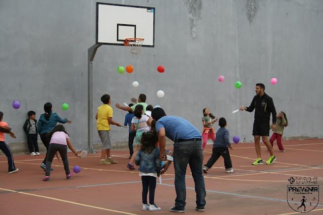 taller infantil tenis globo
