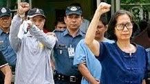 Libertad para líderes comunistas filipinos presos