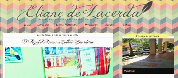 Eliane de Lacerda, blog, textos