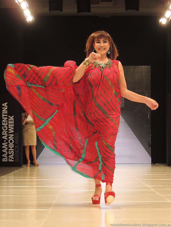 Desfile Clarin Mujer Baam 39. Moda primavera verano 2014.