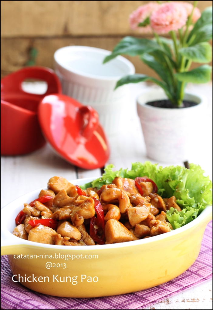 Chicken kung pao catatan nina aneka resep masakan for Aja asian cuisine menu
