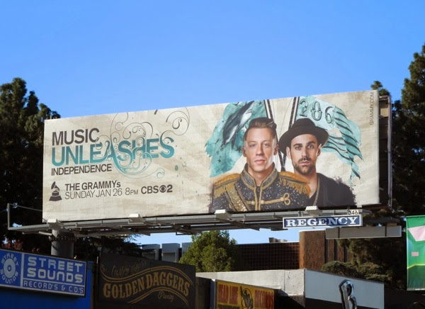Macklemore Music Independence Grammys 2014 billboard