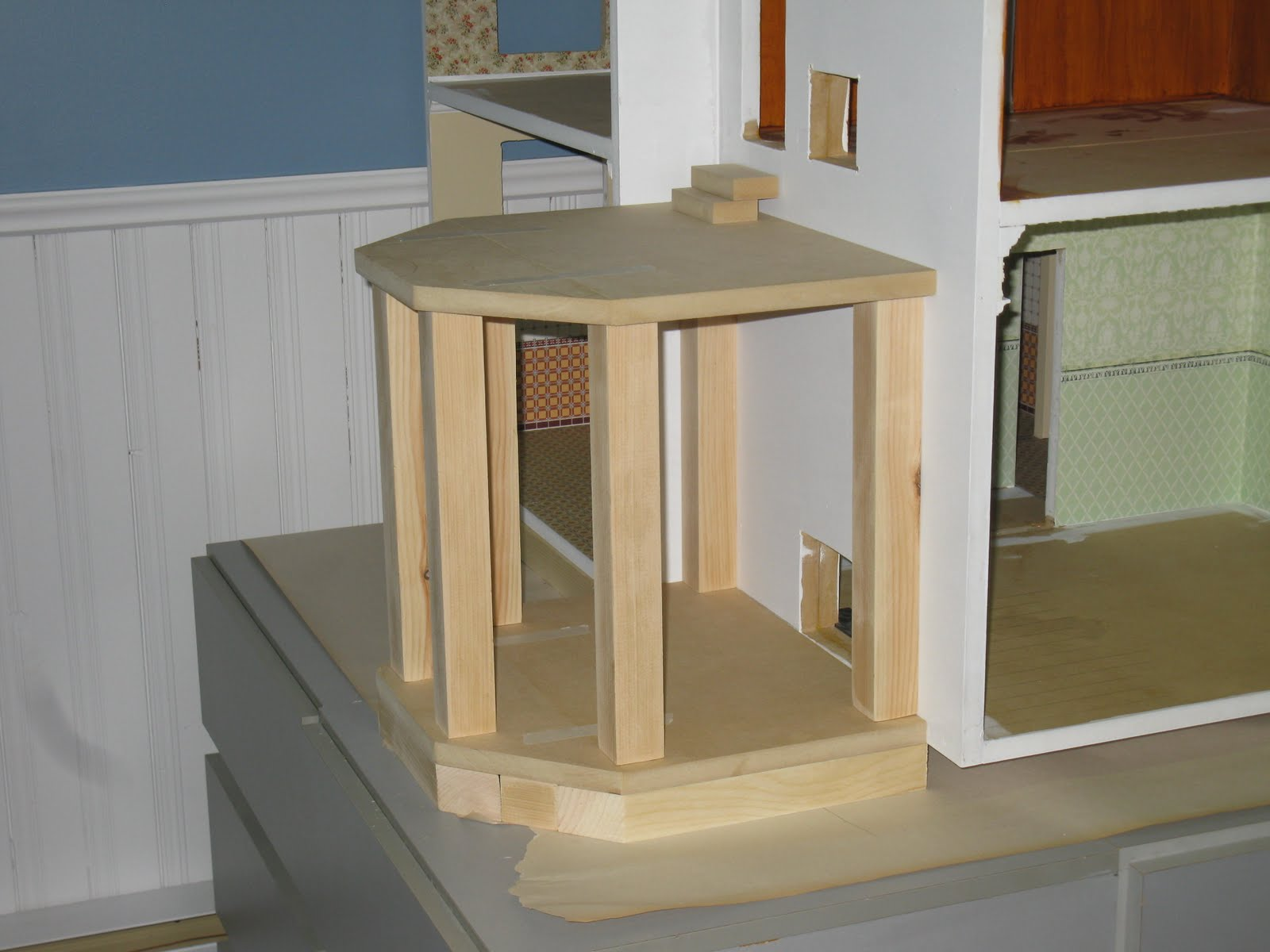 How to attach a balcony or loggia to the house