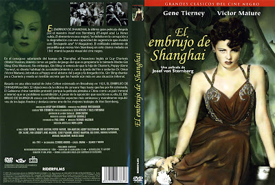 Cartátula, cover, dvd: El embrujo de Shanghai | 1941 | The Shanghai Gesture https://www.facebook.com/Descaga.Peliculas.Cine.Clasico