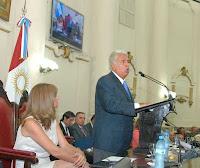 De la Sota dejó inaugurado el 135º periodo de sesiones de la Legislatura.
