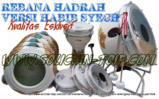 Rebana Hadrah versi Habib Syech Esklusif isi 9 harga termahal