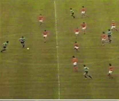 Imagem carrossel holandês contra o Uruguai.