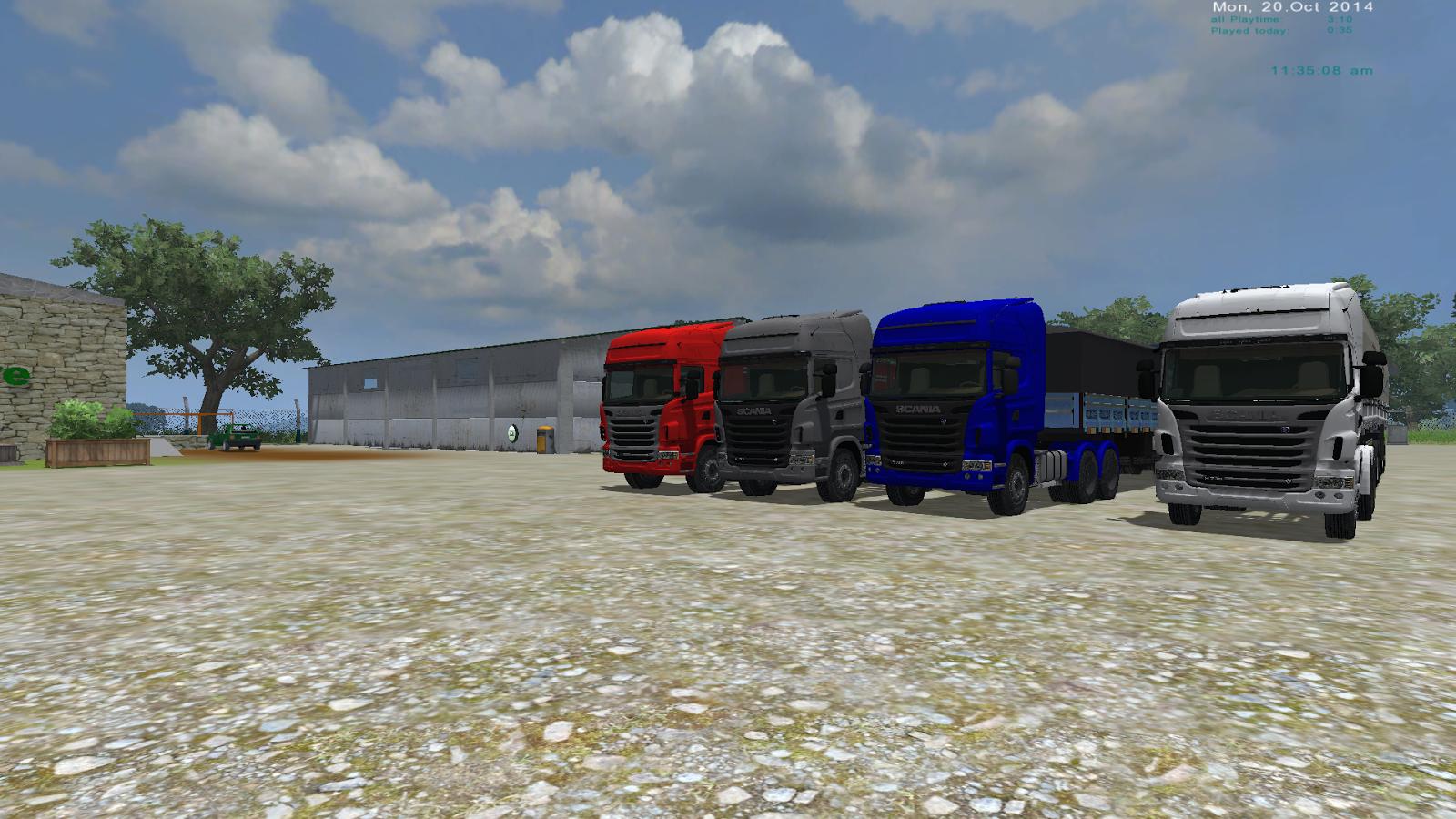 Scania R730 Farming 2013 2015