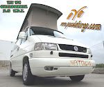 VW T4 CALIFORNIA  , 2.5  T.D.I.  AÑO 1997, A.A. 102 CV, WESTFALIA