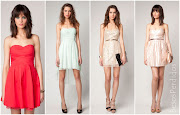 Como podéis ver podéis encontrar una gran variedad de vestidos.