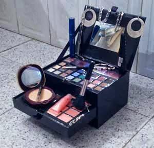 materiales maquillaje inspiracion avaricia