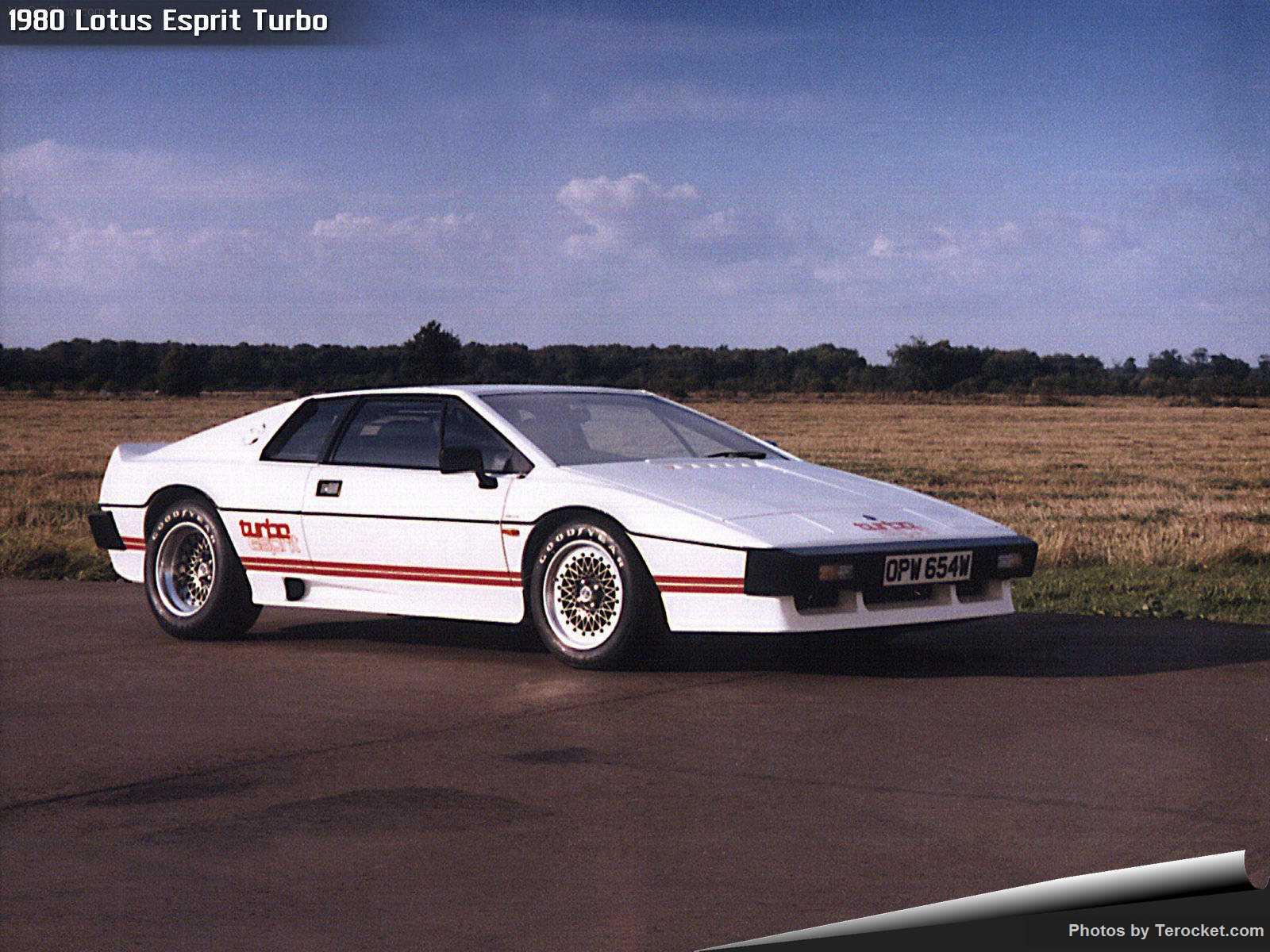 Hình ảnh siêu xe Lotus Esprit Turbo 1980 & nội ngoại thất