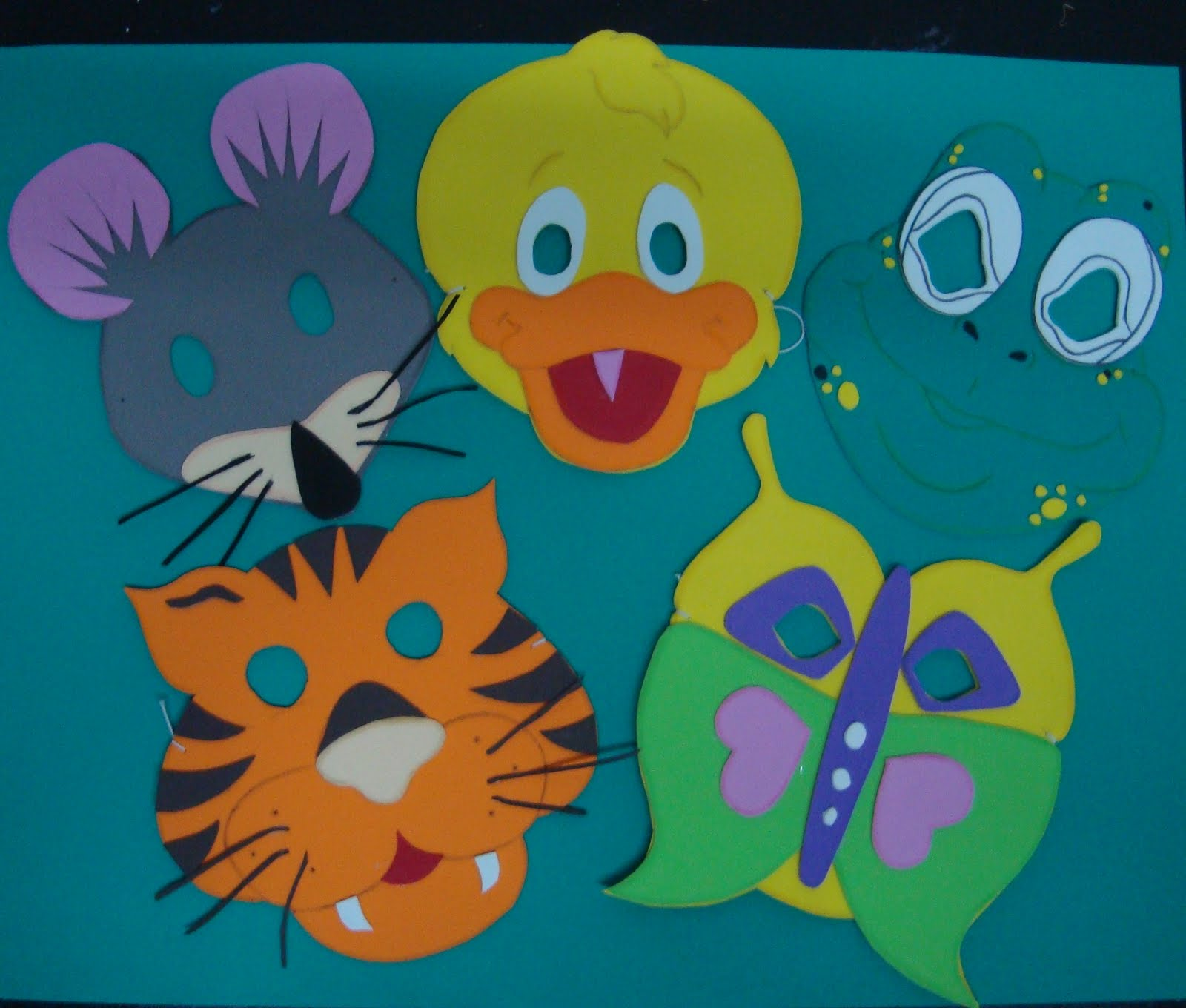 EBI COLOMBIA: Moldes para hacer las mascaras