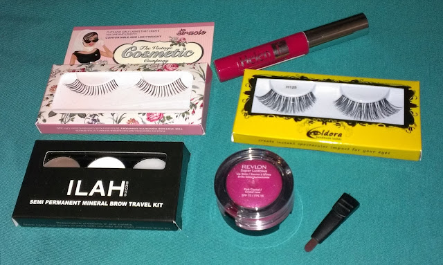 Beauty Blogger goody bag makeup goodies A