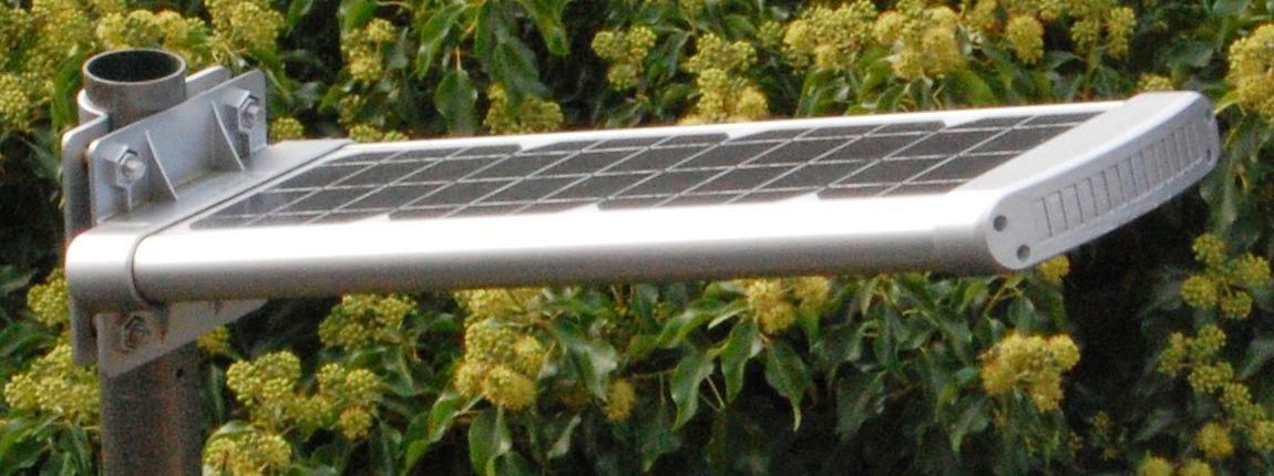 buiten lantaarn op zonne energie verlichting