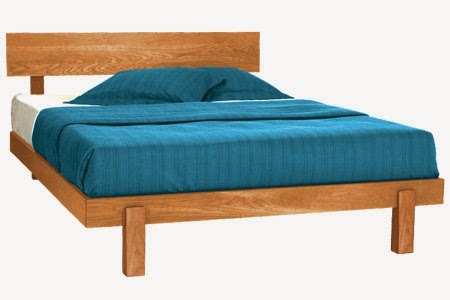 Chemical Free Platform Bed Frames