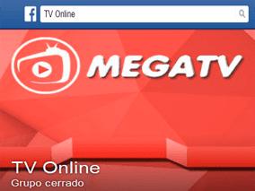 Grupo de facebook de Mega TV Plus