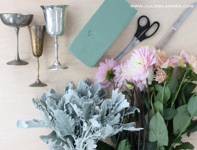 Easy DIY Flower Arrangements Julie Blanner entertaining home