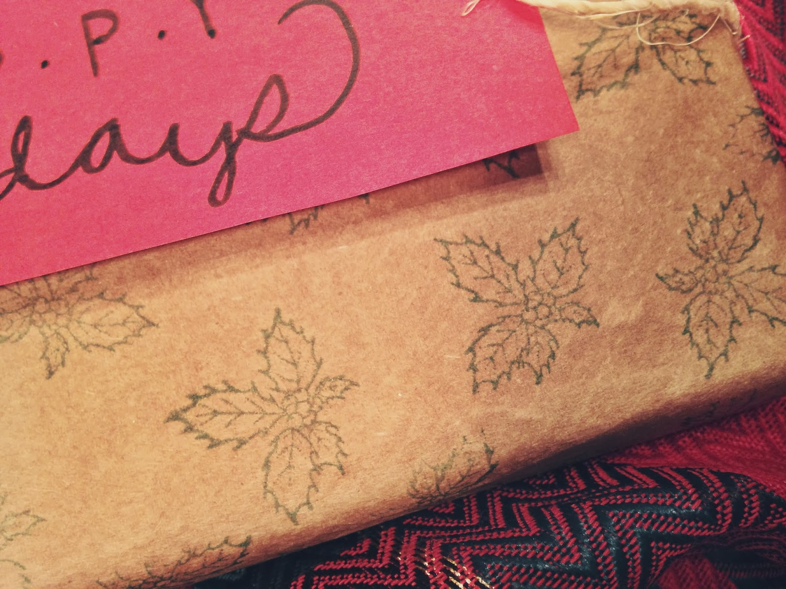 Oh whimsical me diy gift wrapping 5 ways to start youll need some plain brown craft paper or as i used here brown paper grocery bags where did my roll of brown craft paper go jeuxipadfo Choice Image