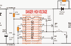 220V DC Inverter UPS Circuit