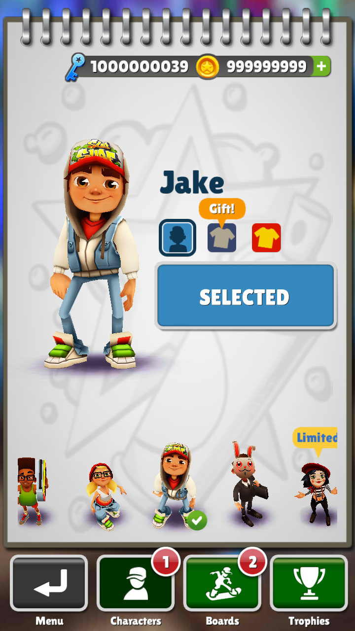 Subway Surfers cheat (iphone,ipod,ipad) ~ PACE12 Free Download Games