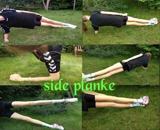 Kom i super form: Træningsøvelser: Planken og sideplanken