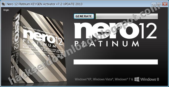nero 12 keygen generator