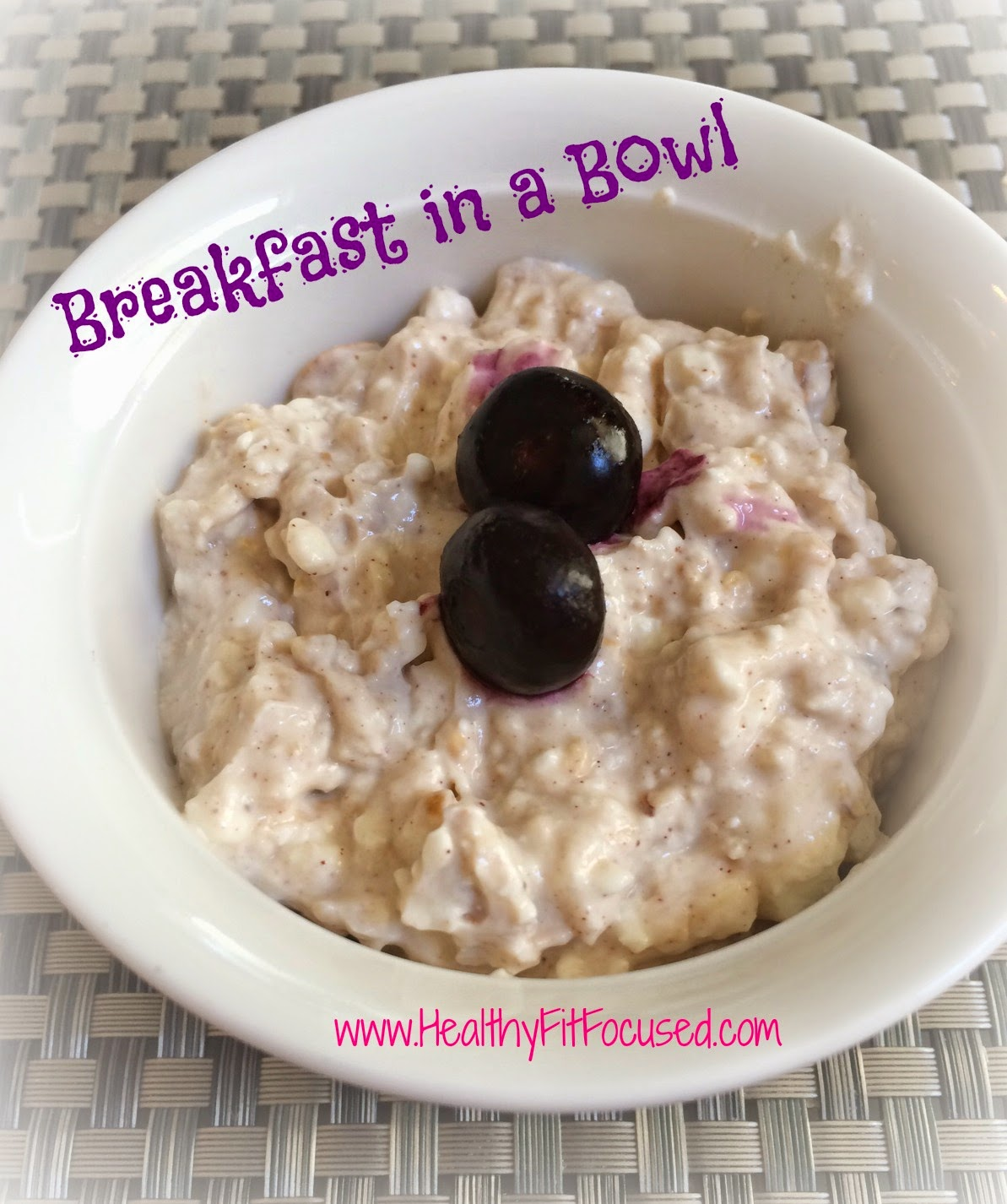 Healthy Breakfast, www.HealthyFitFocused.com