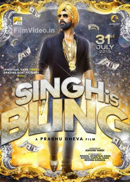 Singh is Bling Poster 2