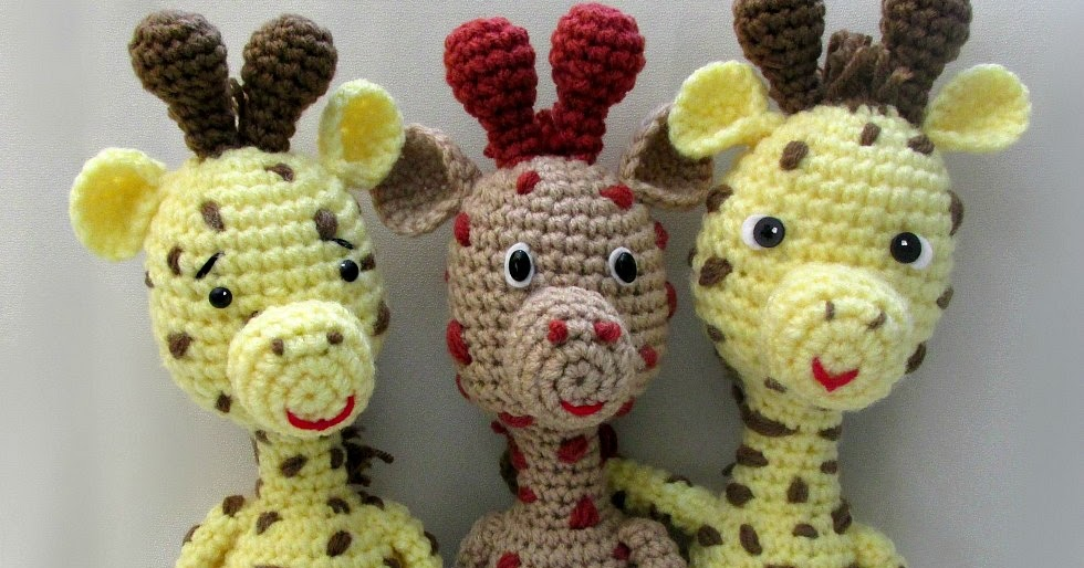 Little Bigfoot Giraffe Amigurumi Pattern ~ Amigurumi To Go