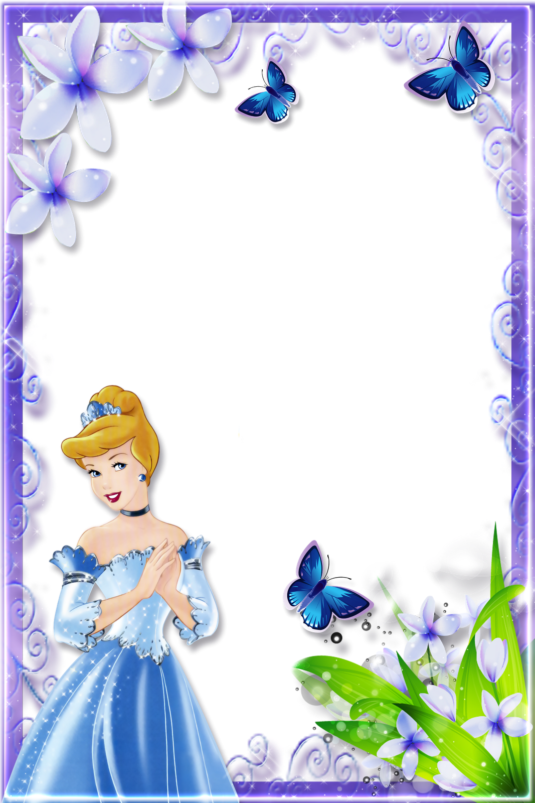 Disney Frames frames png princesas disney #7 central photoshop
